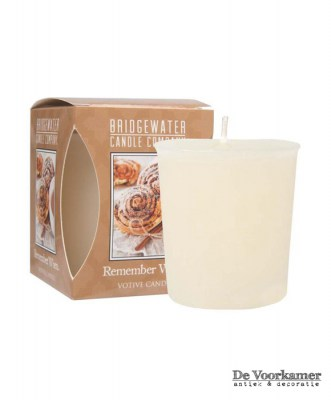 Bridgewater Candle Company Votive Remember When De Voorkamer